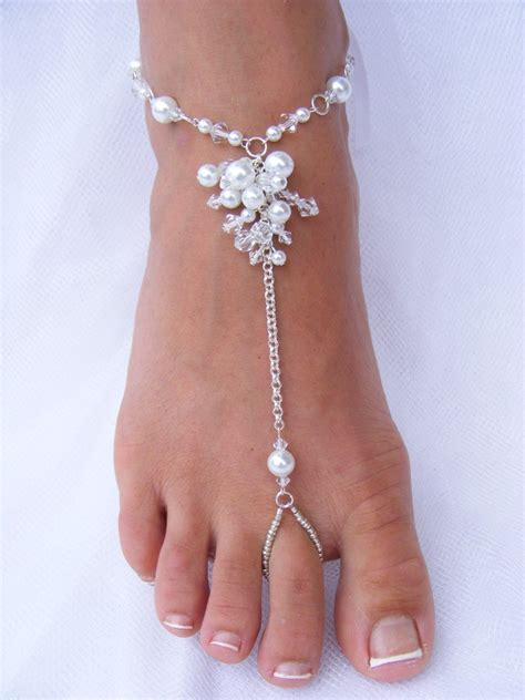 how to make beaded foot jewelry soleless sandals foot jewelry wedding barefoot