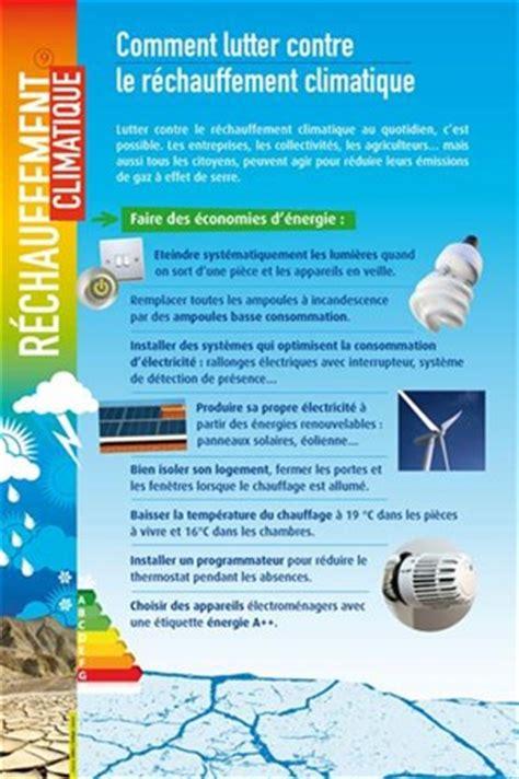 affiche lutte contre le r 233 chauffement climatique panneau d exposition
