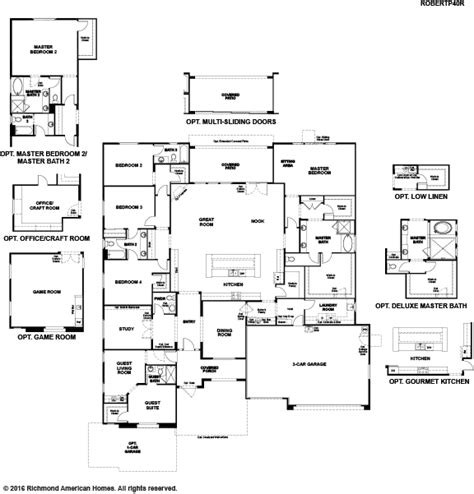 robert floor plan at la jara farms ii