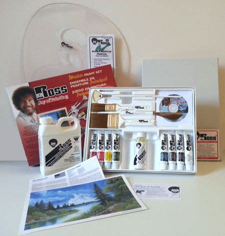bob ross ultimate painting kit bob ross painting supplies bob ross happy