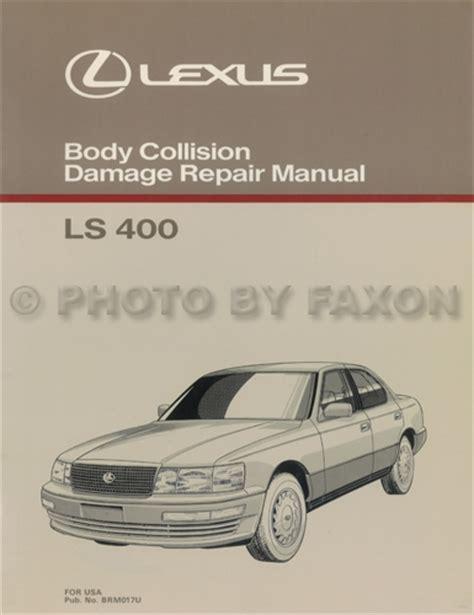 car repair manuals download 1996 lexus ls electronic toll collection 1992 1993 lexus ls400 and sc400 automatic transmission repair manual original