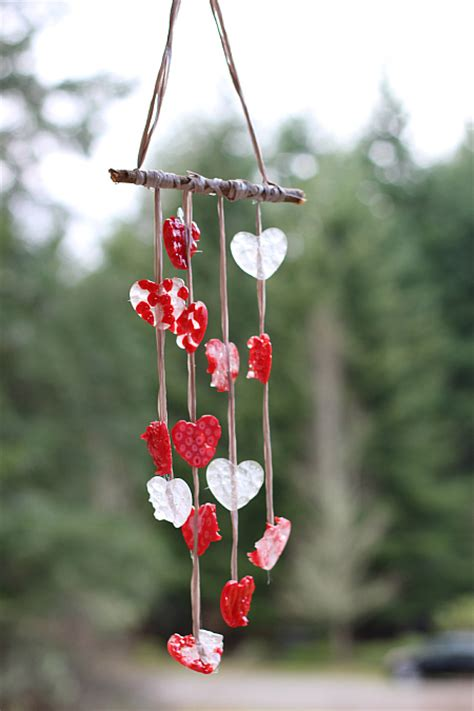 melted bead wind chimes melted bead craft s day wind chimes no time