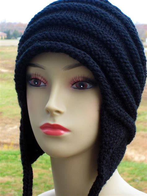 knit hat with ear flaps free patterns knitting hats tag hats