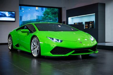 Car Wallpaper Green by Lamborghini Huracan Hd Wallpaper And Background Image