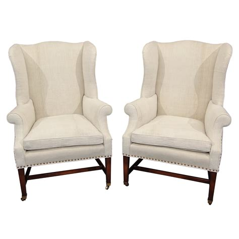 Wingback Chair by Upholstered Wingback Chairs Homesfeed