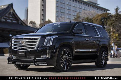 Cadillac On Rims by Lexani Wheels On 2016 Cadillac Escalades