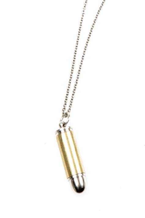how to make bullet jewelry bullet necklace from baltimore by doubledutch boutique