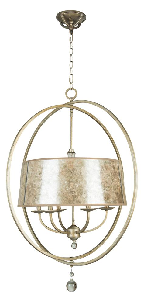 glass drum chandelier craftmade six light athenian obol mica glass drum shade chandelier gray 35536 ao from