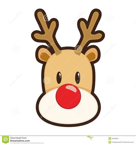 animated reindeers free clipart rudolph nosed reindeer clipartxtras