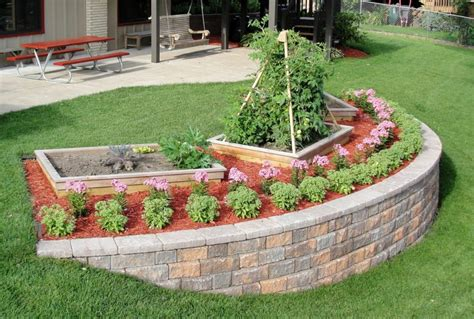 how to build a garden retaining wall how to build a garden retaining wall thrifty outdoors
