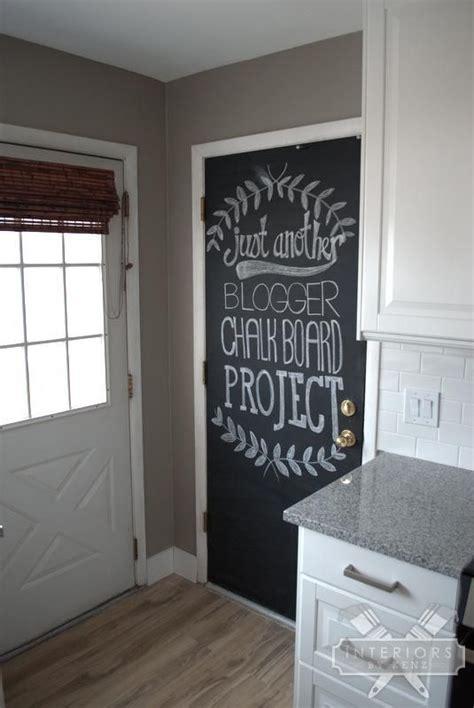 painting chalkboard door painting a chalkboard door