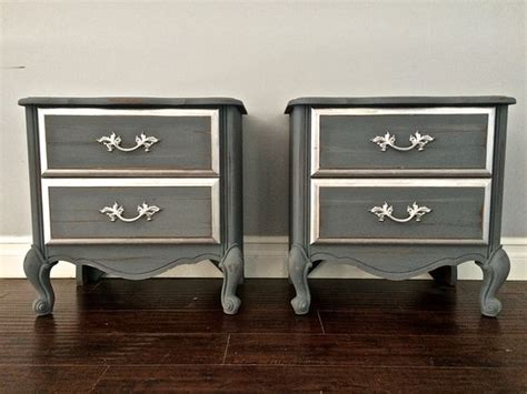 silver shabby chic bedroom furniture shabby chic gray silver leaf end tables nightstands