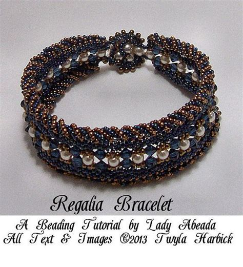 seed bead bracelet tutorial seed bead tutorial for peyote and cuff quot regalia
