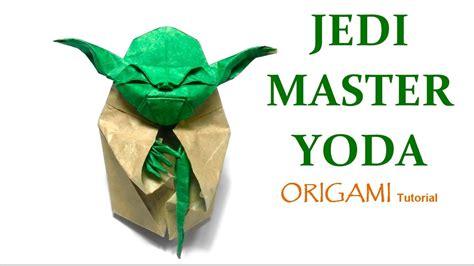 fumiaki kawahata origami yoda origami jedi master yoda tutorial fumiaki kawahata 折り紙