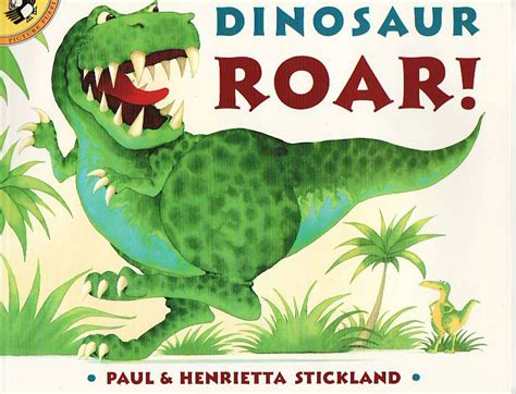 dinosaur picture books story telling for esl dinosaur roar