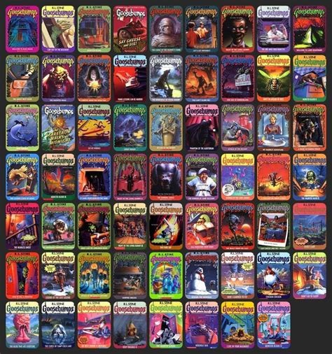 list of goosebumps books with pictures 17 best images about goosebumps on book show