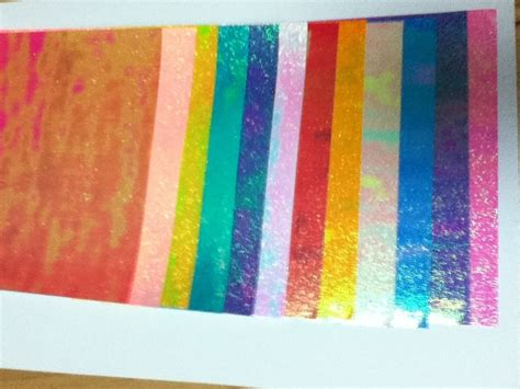 colored origami paper choice metallic gloss shiny glitter pearlescent rainbow