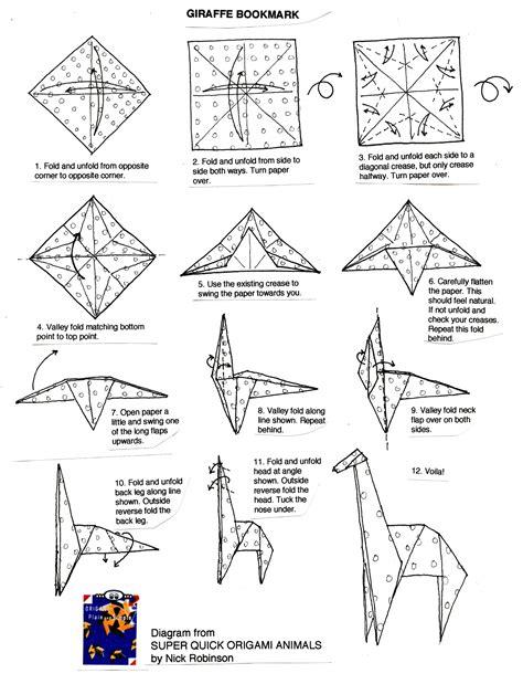 origami folding pdf origami origami giraffe tutorial how to make an origami