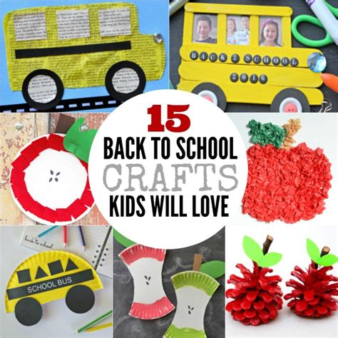 back to school crafts for back to school crafts for 15 crafts for