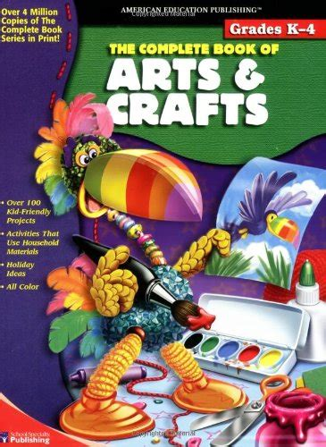 arts and crafts books for complete book of arts and crafts books for