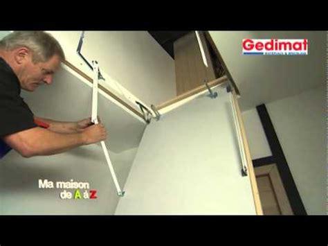 installer un escalier escamotable gedimat ma maison de a 224 z