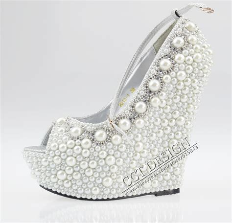 beaded wedding wedges wedges heels promotion shopping for promotional