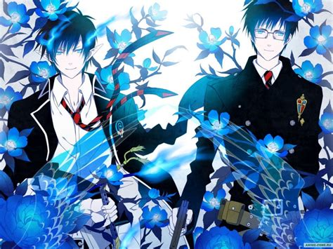 ao no exorcist blue exorcist ao no exorcist wallpaper 35776353 fanpop
