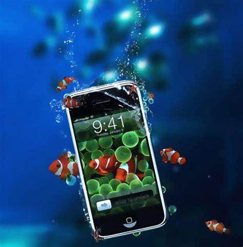 comment reparer iphone tombe dans l eau