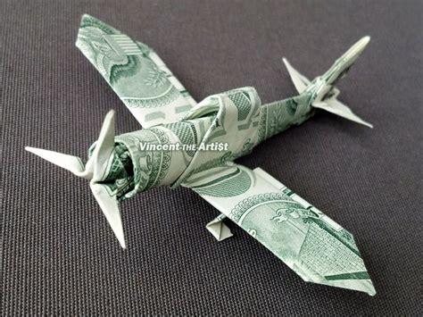 dollar bill origami plane zero fighter plane money origami dollar bill