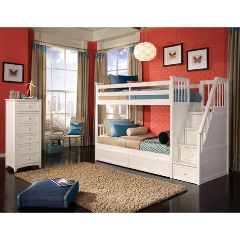 on bunk beds loft bed with stairs for furniture ideas