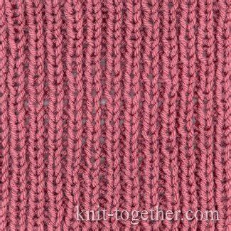 what can i knit knit together simple easy rib 1x1 knitting pattern