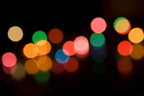 colorful lights photo of light bokeh free images