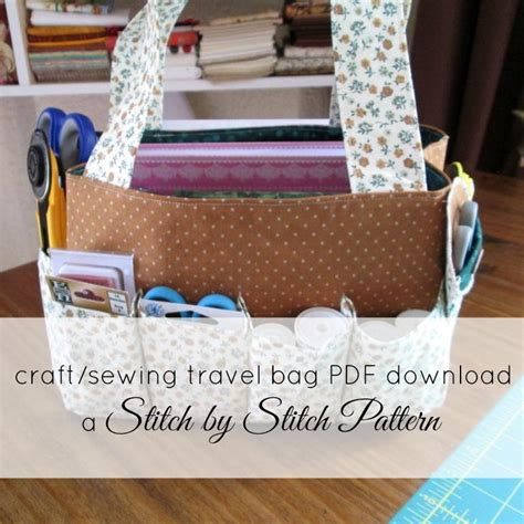 craft sewing patterns travel craft sewing bag by marelize ries craftsy