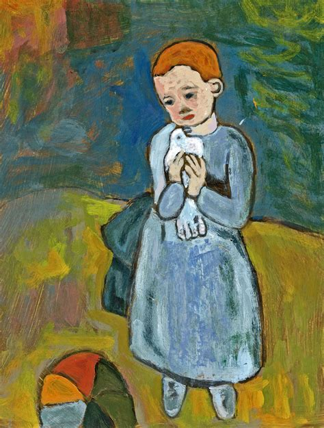 picasso paintings when he was a child found more wings of