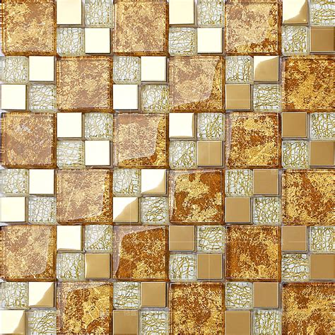 Kitchen Wall Tiles Designs crystal glass mosaic plated tiles art design wall tile