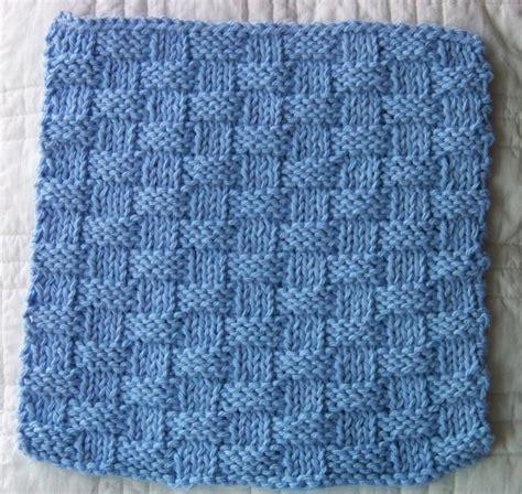 basket weave knitting pattern kitchen dishcloth basket weave by laws of knitting craftsy