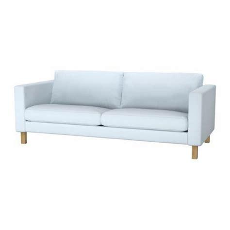 light blue sofa slipcover ikea karlstad sofa slipcover cover sivik light blue 3 seat