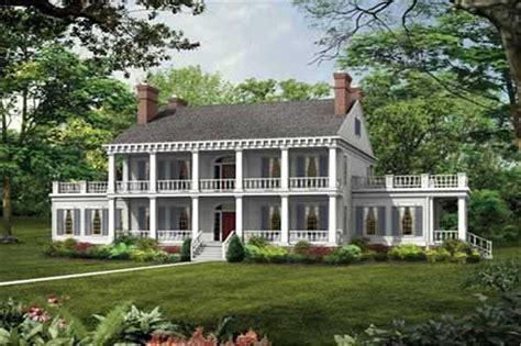 plantation house plans colonial plantation style house plan 137 1375