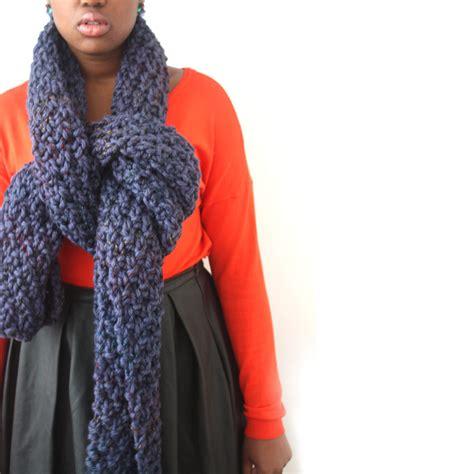 oversized knit scarves blue oversized scarf in a chunky knit urbanknit