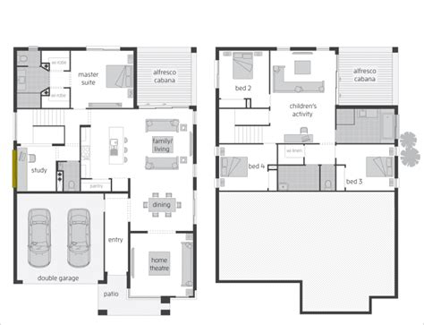 split level floor plan floor plan friday split level rear