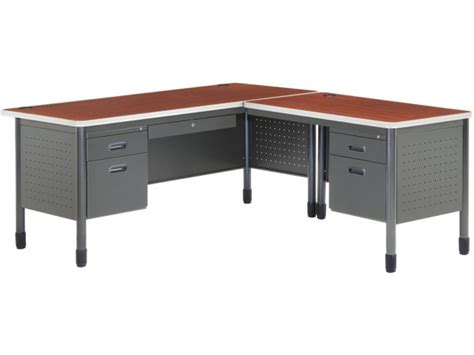 right l shaped desk mesa l shaped desk with right return msa 6729r office desks