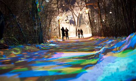 trail blazing freezeway path for skaters opens in canada urbanist