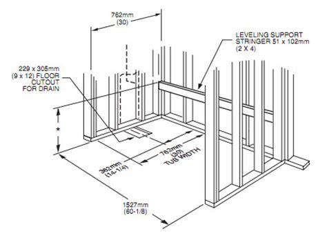 install plumbing installing a bathtub plumbing help