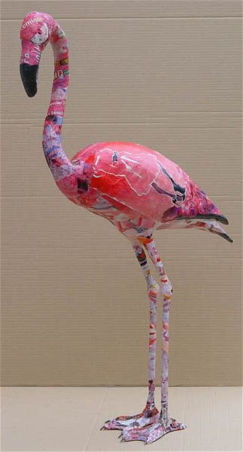 paper mache arts and crafts image result for paper mache flamingo paper