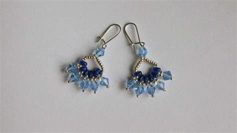 beaded earrings diy how to make beautiful beaded earrings diy style tutorial