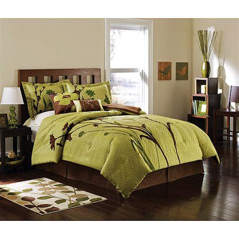 hometrends marmon bedroom comforter set walmart