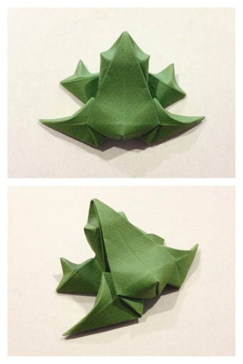 3d origami frog 1000 ideas about origami frog on 3d origami