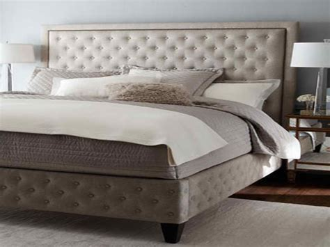 king headboard bedroom king size tufted headboard with grey wall king