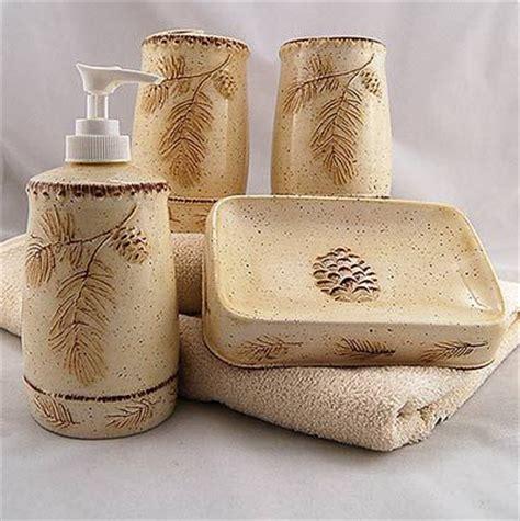 pine bathroom accessories pine cone bathroom accessories decor accessories for