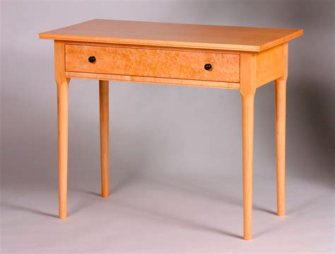 writing desk plans woodworking shaker inspired writing desk finewoodworking